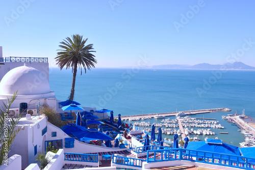 Obraz na plátně Sidi Bou side, Tunisia