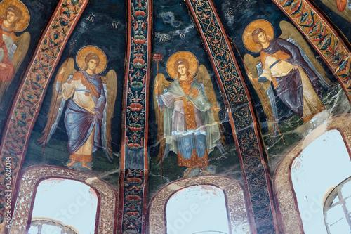 Foto Fresco of archangels