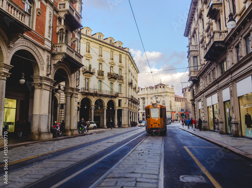 Fotografie, Obraz Tram a Torino