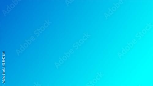 Slika na platnu Blue green azure gradient background. vector illustration