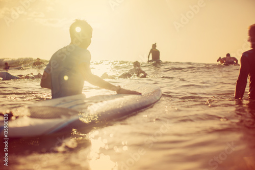 Going out to Surf