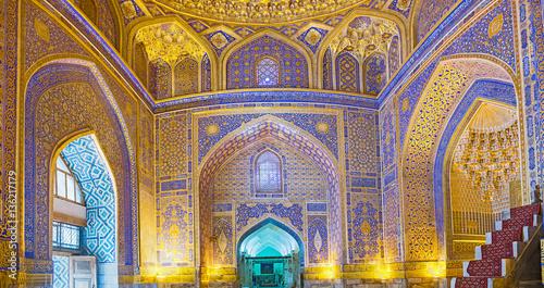 Fotografia Panorama of the mosque
