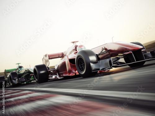 Wallpaper Mural Motor sports competitive team racing