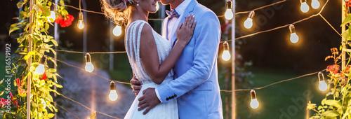 Fotografia, Obraz happy bride and groom