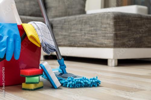 Firma sprzątająca Fototapeta