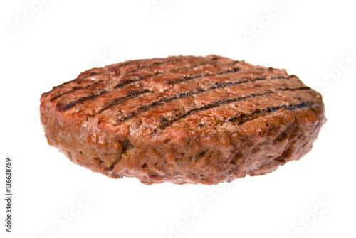 Hamburger patty Fototapet