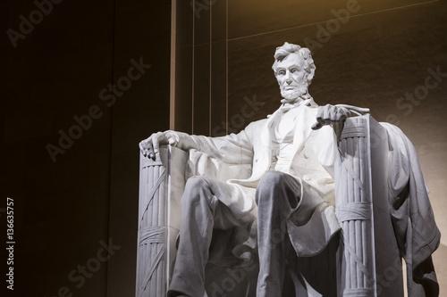 Canvas Print Abe Lincoln