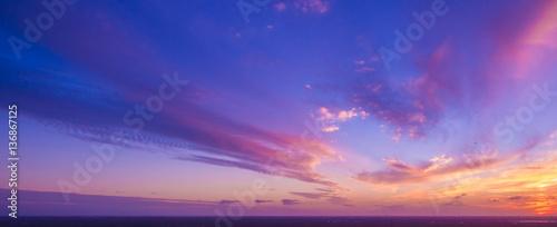 Canvas-taulu Beautiful sunset in Florida