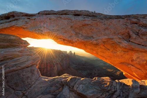 Sunrise at Canyonlands National Park, Utah.