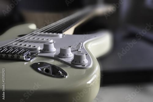 Photo Electric guitar