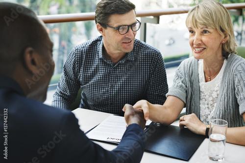 Fotografija Business Communication Connection People Concept