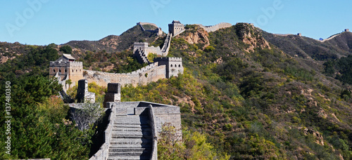 Fotografie, Tablou The Great Wall of China near Beijing