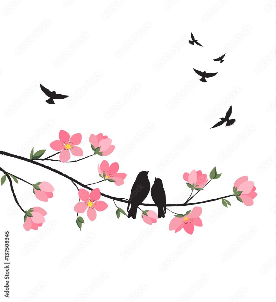 Wiosna sakura kwiat <span>plik: #137508345   autor: Miroslava Hlavacova</span>