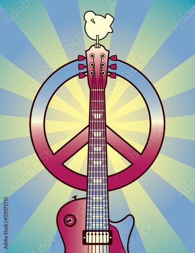 Wallpaper Mural Tribute to Woodstock 1