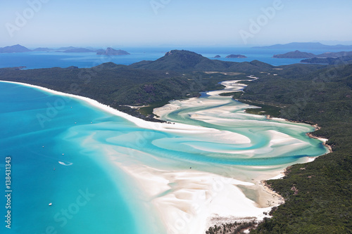 Photo Aerial view Whitsunday Islands