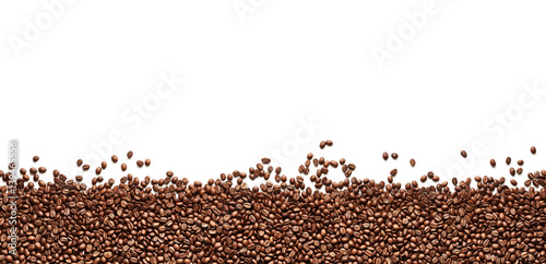 Fototapeta premium Rama ziaren kawy