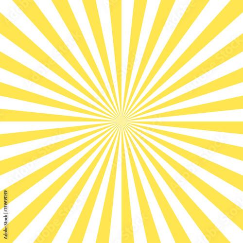 Obraz na płótnie shiny sun vector ray background