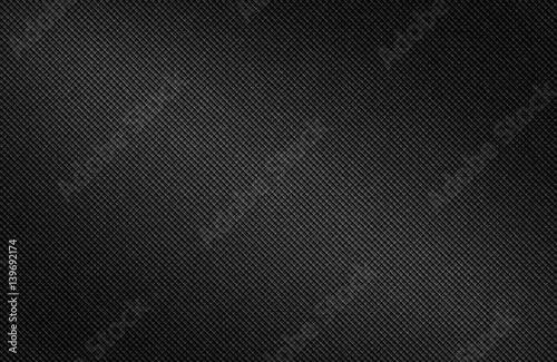 Leinwand Poster Dark carbon fiber background