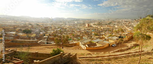 Asmara  -  the capital city and largest settlement in Eritrea #139947599