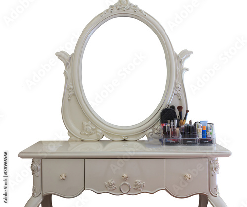 Fotografie, Obraz beautiful dressing table with make up