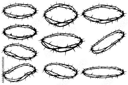 Stampa su Tela crown of thorns, Jesus Christ's - crown