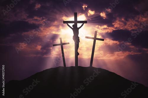 Obraz na płótnie Symbol of God's love to people