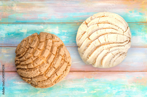 Mexican Conchas sweet bread Poster Mural XXL