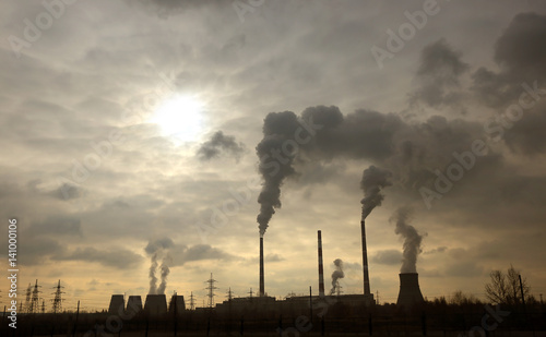 Foto smokestack pipe plant