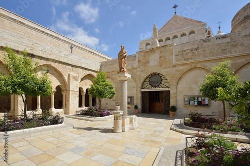 Leinwand Poster Church of St. Catherine, Bethlehem, Israel, 22 March 2016