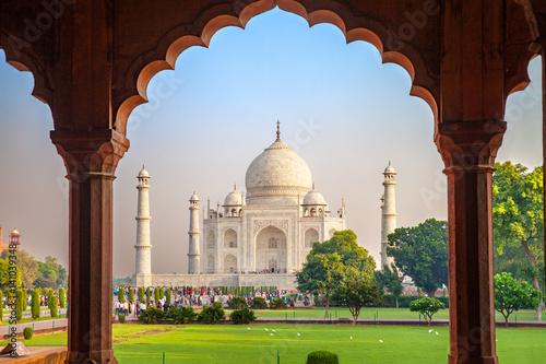 Wallpaper Mural Taj Mahal, Agra, India