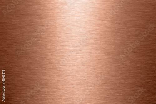 Fényképezés Kupfer Oberfläche gebürstete Struktur