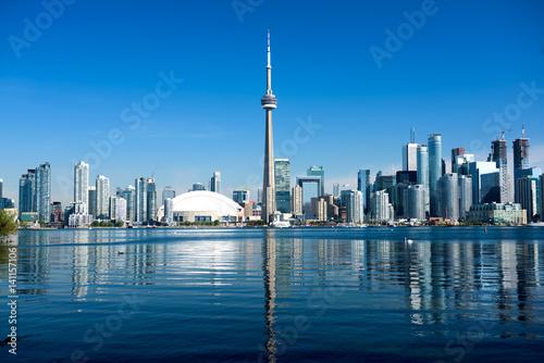 Canvas Print Toronto Skyline, Canada
