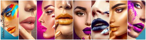Canvas-taulu Makeup collage