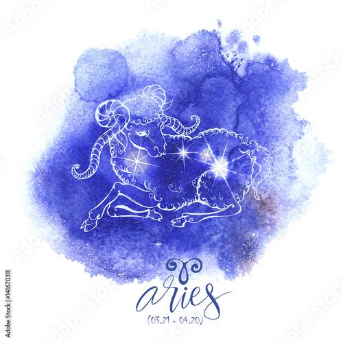 Fotografie, Obraz Astrology sign Aries