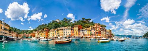 Fototapeta Panorama, Portofino, Ligurien, Italien