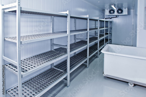 Refrigerated warehouse. Room for creating ice and food storage.