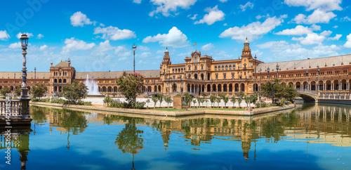 Fototapeta premium Plac Hiszpański w Sewilli