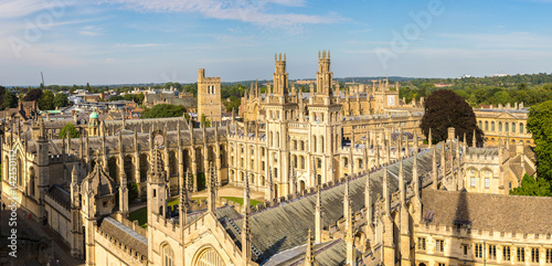 Stampa su Tela All Souls College, Oxford University