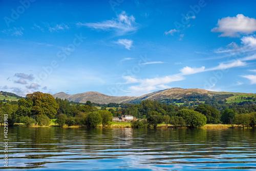 Obraz na plátně Windermere Lake District, United Kingdom