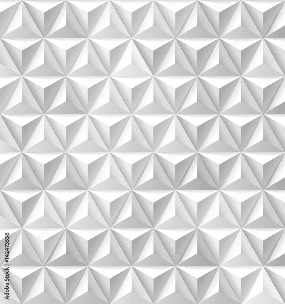 Trójkąty i piramidy białe tło <span>plik: #142473536 | autor: LisaShu</span>