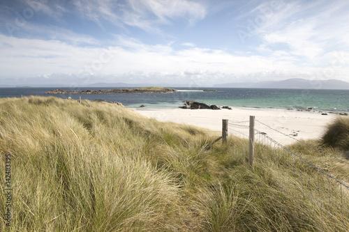 Obraz na plátne Traigh Ban; White Strand of the Monks; Beach; Iona; Scotland, UK
