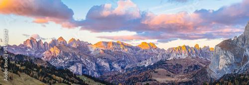 Photo Dolomites mountains Italy