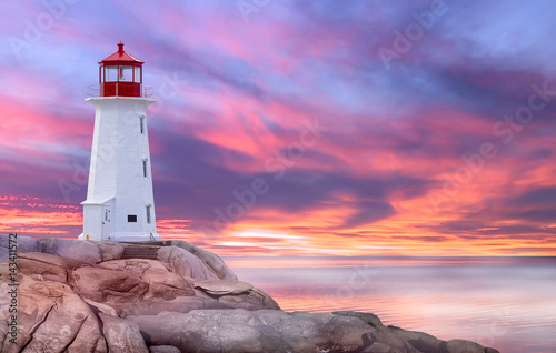 Peggy's Cove, St. Margarets Bay, Nova Scotia Fototapeta