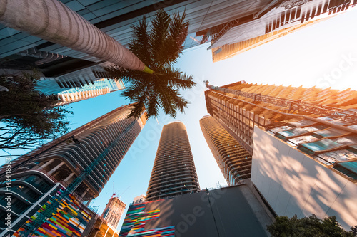 Photo Downtown of the city of Miami, USA
