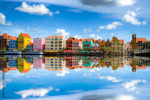 Willemstad die Hauptstadt von Curaçao