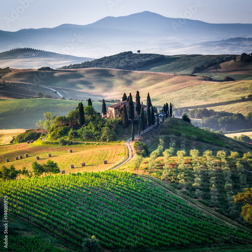 Canvas Print Tuscany, spring  landscape