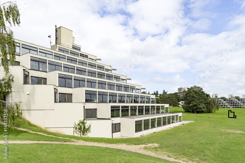 Obraz na płótnie The ziggurat building at the University of East Anglia