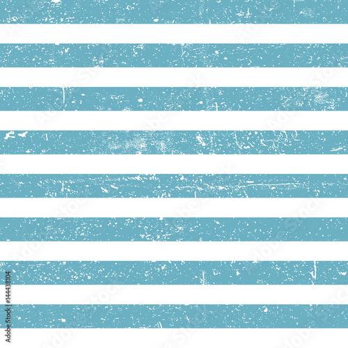 Carta da parati Seamless marine background. Blue grunge lines pattern