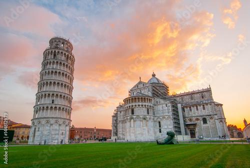 Stampa su Tela Torre di Pisa