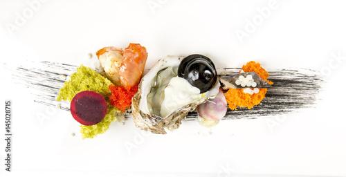 sztuka owoców morza